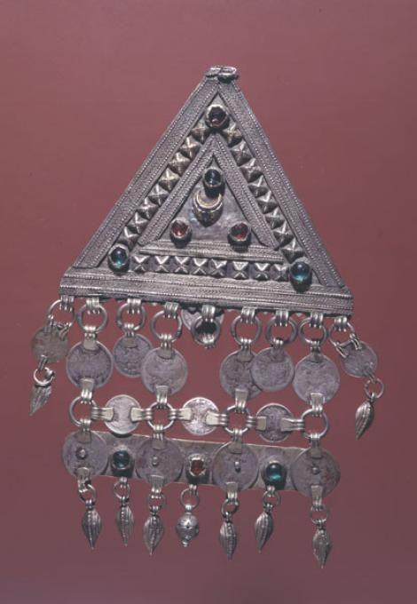 Sewn decoration - amulet. Laks. Funds SEM