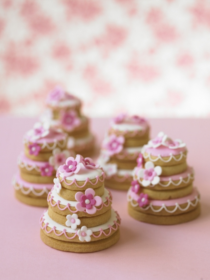 Little stacked cookies