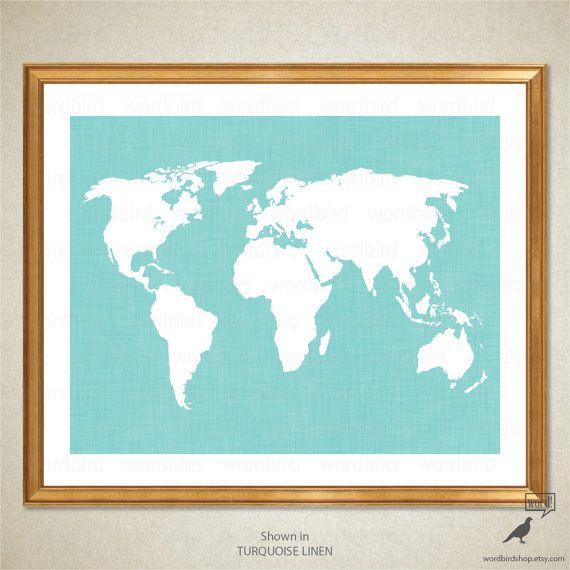Best World Maps Images On Pinterest World Maps World Map Art - 24x36 world map