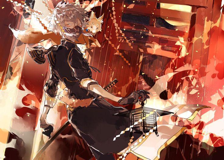 【刀剣男士×怪談企画】 第四夜・鳴狐×千本鳥居 #刀剣男士百物語
