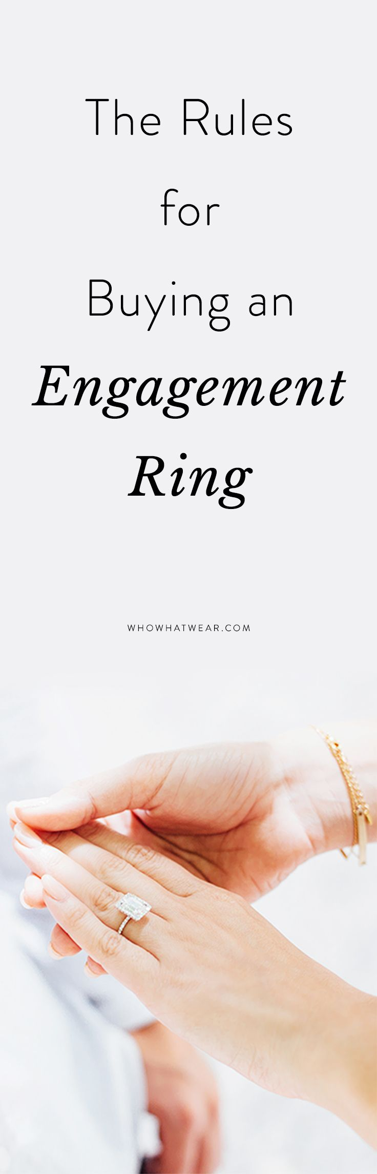 What to know before buying an engagement ring.