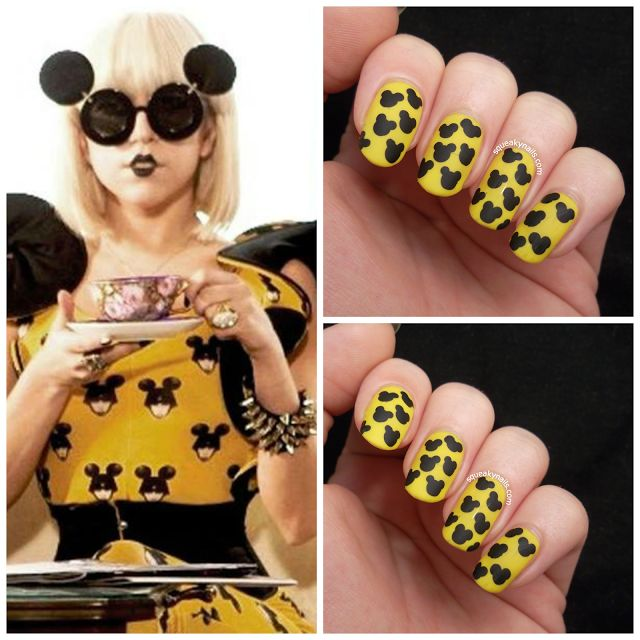 Lady Gaga Paparazzi (Jeremy Scott) nails #nailart