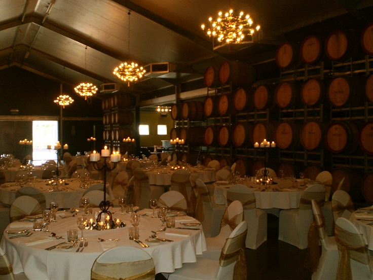 The Barrel Room is located at Tempus Two, set on 18 acres of stunning vineyards, and offers a central location as well as contemporary architecture.  http://www.hvg.com.au/functions/tempus-two