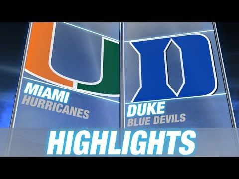 #Miami vs Duke | 2014-15 ACC Men's Basketball Highlights