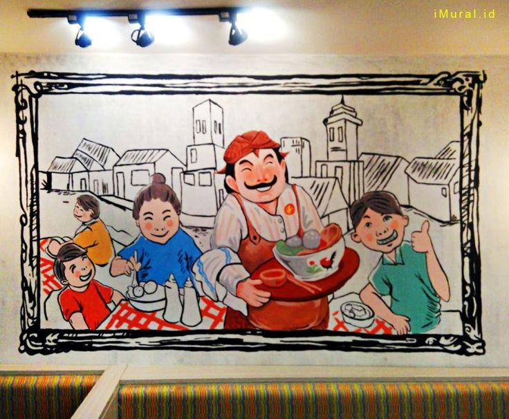 Jasa Mural, Jasa Lukis Dinding, Jasa Mural cafe, Jasa Mural Cirebon, Jasa Lukis Dinding Cirebon-Mural by IMURAL