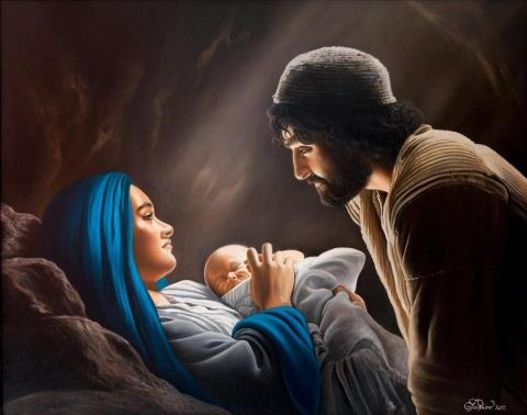 I believe Mary was not alone. Either Joseph or Angles attended her at Christ birth.