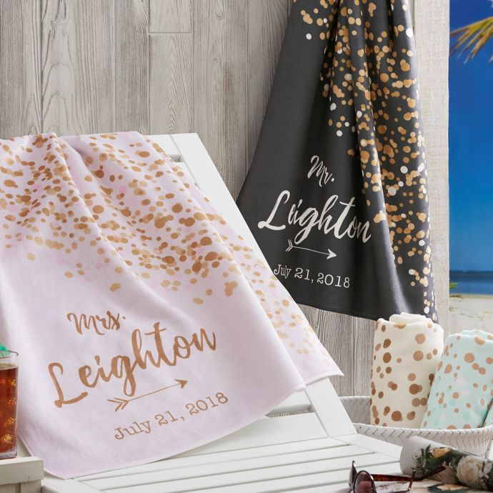 Sparkling Love Beach Towel Bed Bath Beyond Bathroom In 2019
