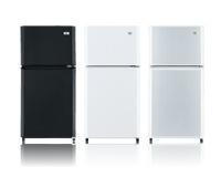 ハイアール ノンフロン小型冷蔵庫(冷凍冷蔵庫)106L JR-N106E(W)ホワイト citynet