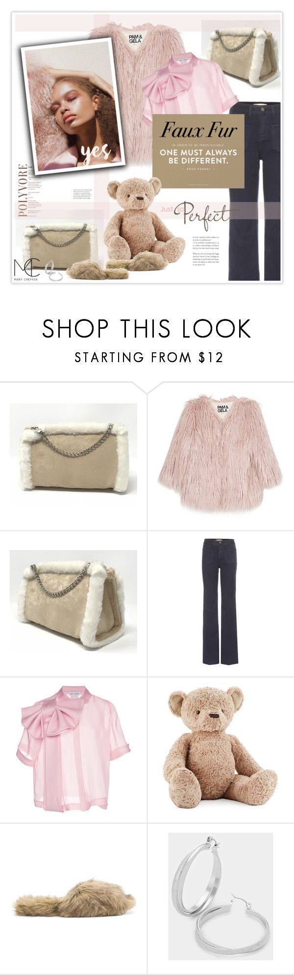 """""""One must always be different"""" by mcheffer ❤ liked on Polyvore featuring Pam & Gela, Vanessa Bruno, Dice Kayek, Jellycat, Simone Rocha, mcheffer, marycheffer and marycheffertictail"""