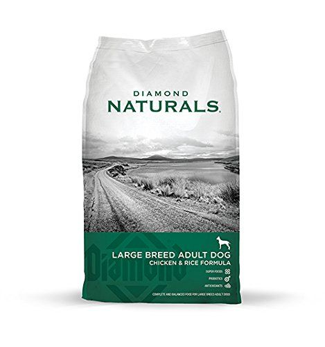 Diamond Naturals Dry Food for Adult Dogs, Large Breed 60  Chicken Formula, 40 Pound Bag *** Don't get left behind, see this great dog product : Dog food types