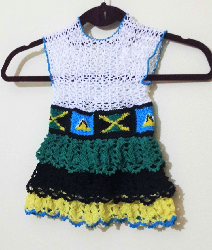 Crochet baby dresses.. Multi National? No problem