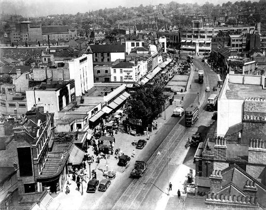 Lewisham High Street, 1938.