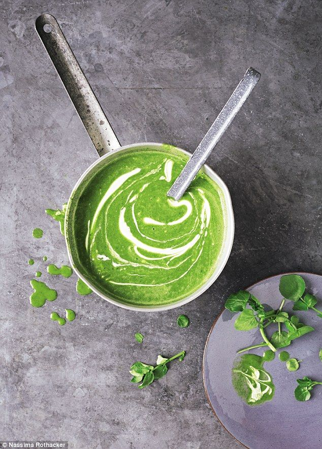 Annie Bell: Simple watercress soup | Daily Mail Online