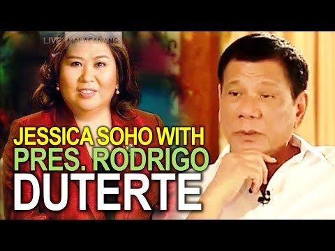 PRES. RODRIGO DUTERTE FULL INTERVIEW WITH JESSICA SOHO | NEWS UPDATE - WATCH VIDEO HERE -> http://dutertenewstoday.com/pres-rodrigo-duterte-full-interview-with-jessica-soho-news-update/   Welcome to my channel.  You are in a 'one-stop-news-channel'! NEWS TV is a place where you can find news updates and latest trends in the Philippines. We grab the best stuffs and reupload here.  What's new in politics, entertainment, culture, lifestyle, and Duterte – ENJOY i