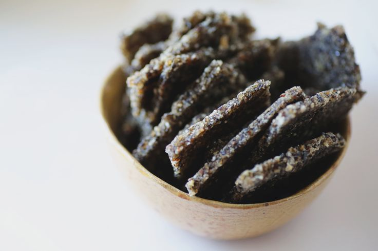 Wild Rice Crackers - to get my recipes delivered directly to your inbox, sign up for my free newsletter at www.inspiredbodies.com