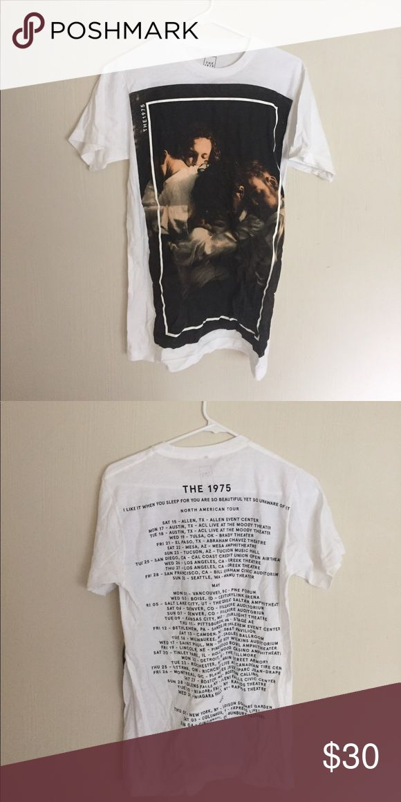 the 1975 2017 tour merch never worn bought at the 1975 concert Brandy Melville Tops Tees - Short Sleeve