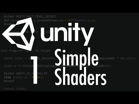 Unity Tutorial: A Practical Intro to Shaders - Part 1 - YouTube