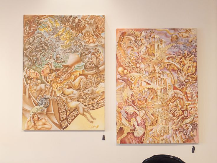 """""""Reincarnation""""  &  """" Pacifica"""" By: Loui Morrell"""