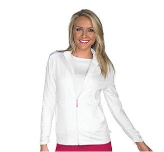 A medical rebel with a cause?!  Check out this cute and functional  jacket from Uniform City.  Get this and other items with your rebate from RebateBlast.