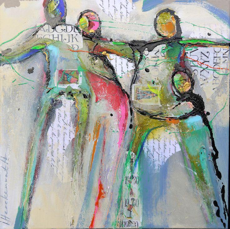 Ingeborg Herckenrath - Connected People 16 01 #art