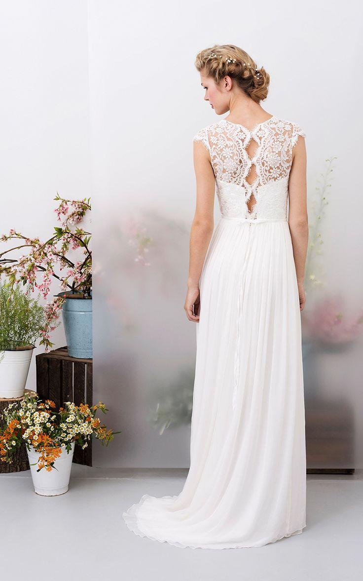 426 best kleider images on Pinterest | Wedding dressses, Marriage ...