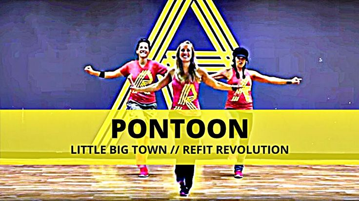 """Pontoon"" || Little Big Town || Dance Fitness || REFIT® Revolution"