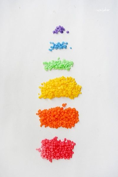 """Homemade rainbow sprinkles (iambaker). """"Three ingredients....can be tinted any color...and it actually tastes good!"""""""