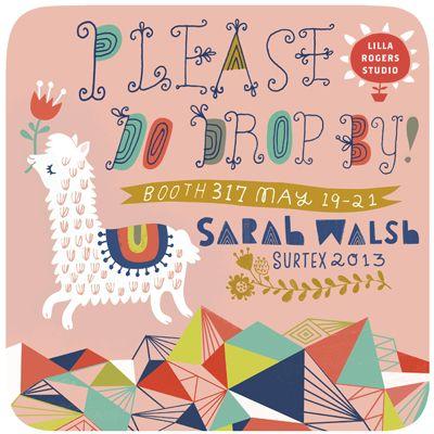 sarah walsh..surtex..on print & pattern