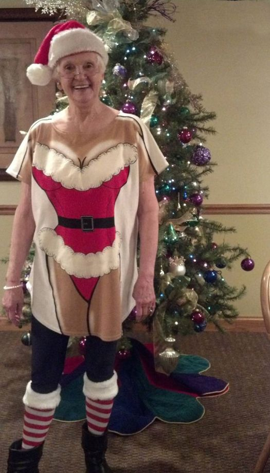 Mrs Claus Sweater