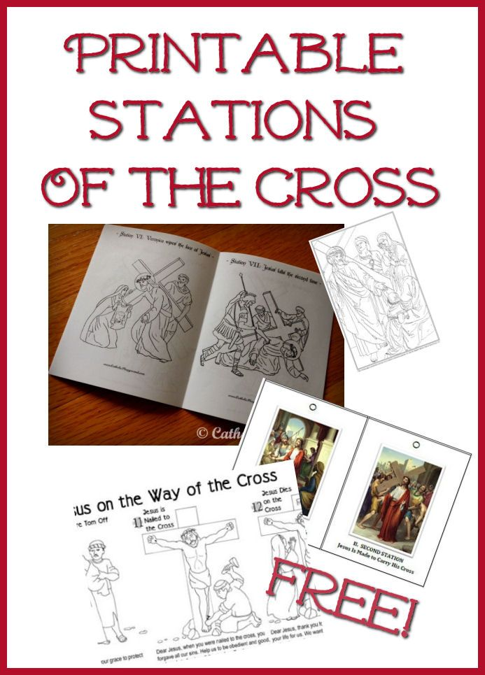 stations of the cross coloring Catholic Kids Coloring