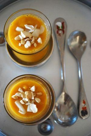 Velouté patate douce et carottes de Cléa - je la fais super souvent l'hiver, avec de la crème classique.
