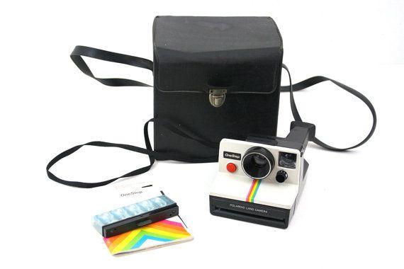Vintage Polaroid One Step Land Camera / by CreekLifeTreasures