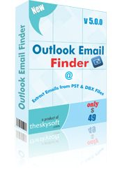 Outlook Email Finder is fast and accurate email address extractor software developed to provide the users with an efficient tool to extract and save email IDs contained in MS Outlook and Outlook express files. This useful Outlook email extractor software provides the user with whole lot of advance features to extract email addresses in bulk.