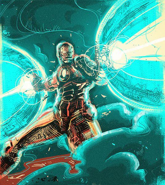 Iron man by Ricardo Lopez Ortiz