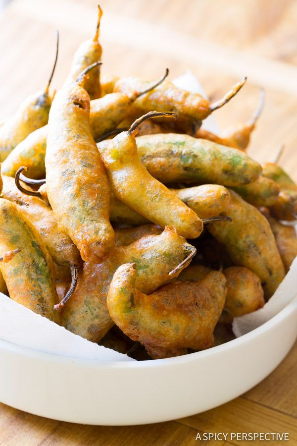 Amazing Tempura Shishito Peppers with Korean Mayo! This easy beer-battered fried peppers recipe is loaded with smoky flavor and crunch, with a spicy mayo