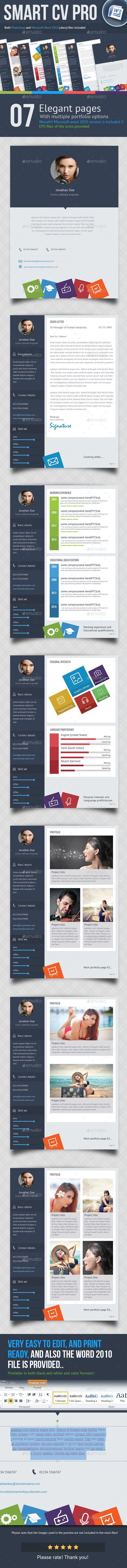 32 best CV / Resume / Print designs images on Pinterest | Design ...