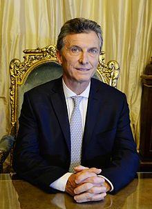 3/28/2016 ARGENTINA: Presidente Macri en el Sillon de Rivadavia, Argentina, Wikipedia