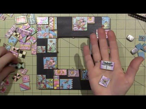 Building a polymer Clay Tile Mosaic - YouTube