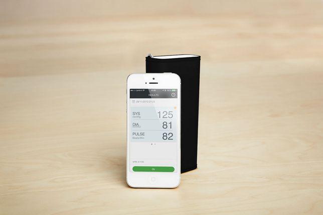 The QardioArm blood pressure monitor from Vitamins