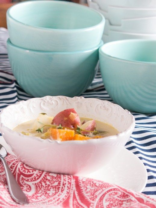 2014 Winter Vegetable Soup | infinebalance.com  #recipe