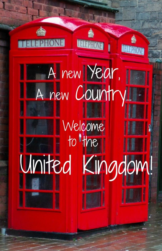 A New Year and a New Country – The United Kingdom