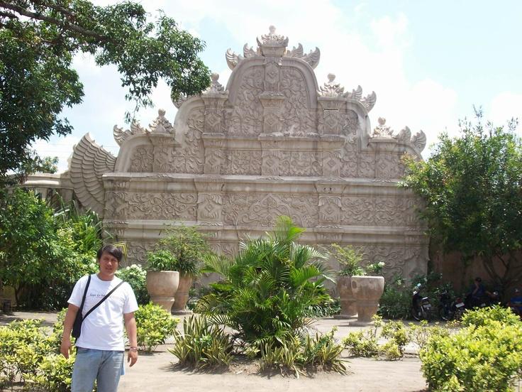 at Taman Sari Jogja