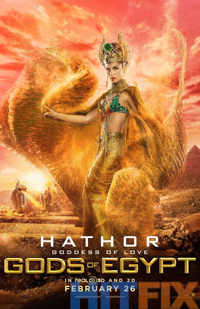 What Did the Ancient Egyptians Do to Deserve These Gods of Egypt Posters?