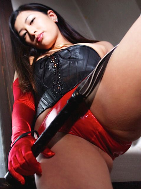 asian strapon dominatrix beauty
