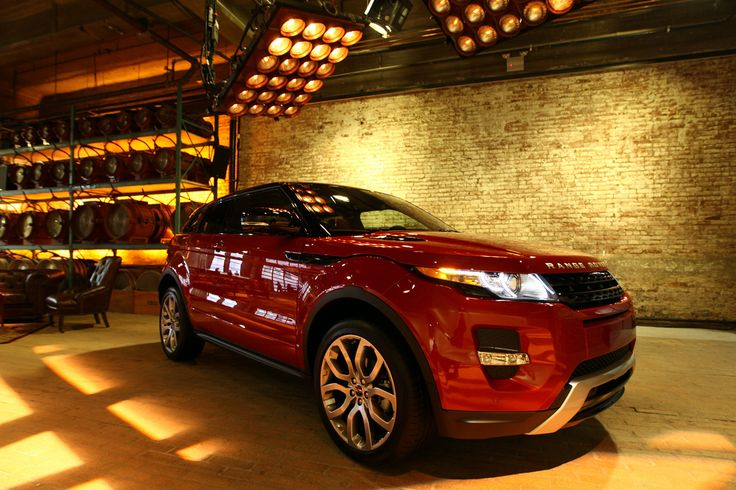 NEW YORK, NY - APRIL 19:  A general view of atmosphere at the NYC launch of the 2012 Range Rover Evoque at Highline Stages on April 19, 2011 in New York City, featuring the Range Rover Evoque in Firenze Red.  (Photo by Neilson Barnard/Getty Images for Range Rover)