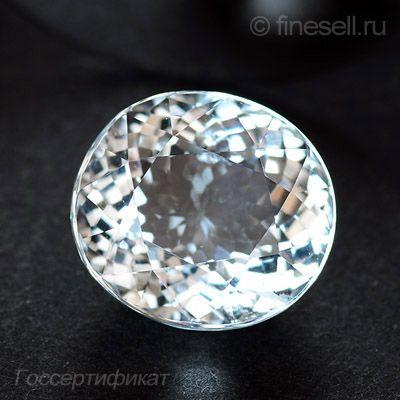 Натуральный камень Аквамарин