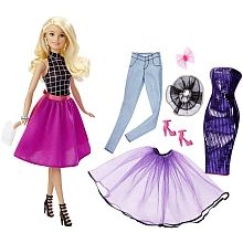 Barbie - Puppe + Modeset, Barbie