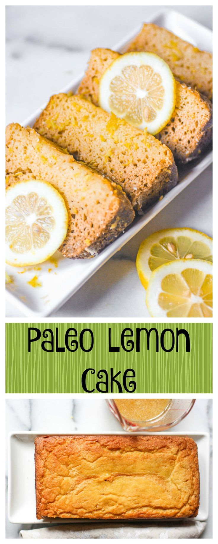 Paleo Lemon Cake. I forgot that this amazing recipe has no grains while I was eating this paleo lemon cake! It's that good! It's simple and it's healing. You have to try this!