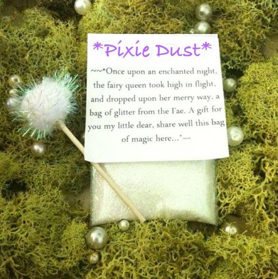 Magic Pixie Dust packets / Fairy Dust by thelocalmermaid on Etsy