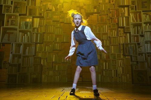 Matilda the musical....pretty much the cutest musical!